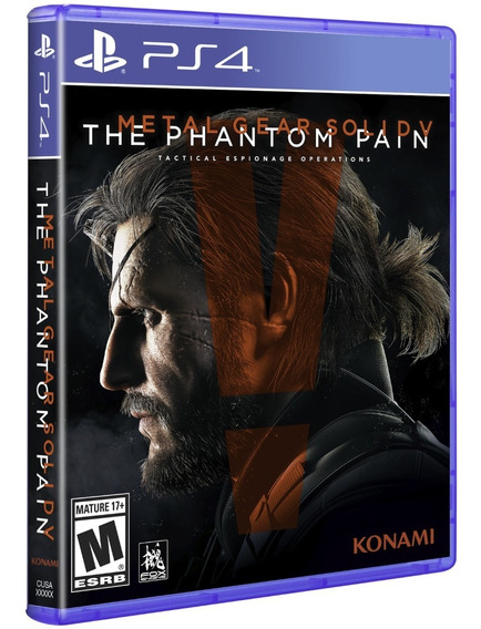 Jogo Metal Gear Solid 5 The Phantom Pain Ps4 Disco Fisico Br