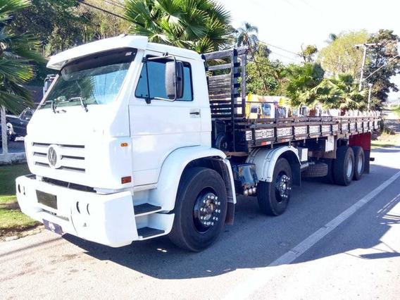 Vw 24220 8x2 Carroceria Motor Novo Fs Caminhoes