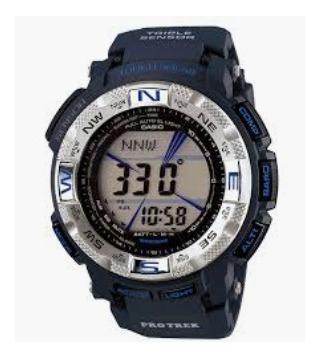 Relogio Casio Protrek Prg-260-2 Azul Tough Solar Prg260 12x