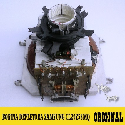 Bobina Defletora Tv Samsung Cl29z58mq - Scd-29701vxd