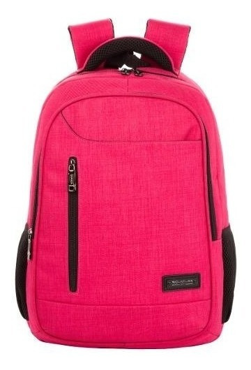 Mochila Reforzada Porta Notebook Quaglia Mujer Qs310 X2