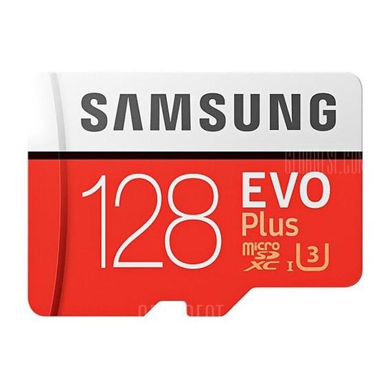 Cartão De Memória Samsung Evo 128 Gb 100mb Classe 10