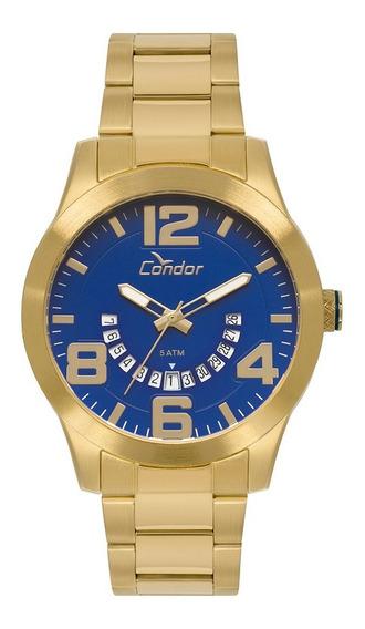 Relógio Condor Masculino Speed Dourado Co2115kuf/4a Data