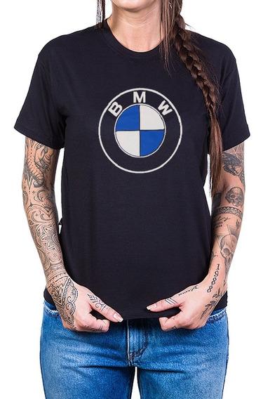 Camiseta Bmw Logo Preta