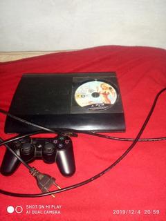 Ps3 Super Slim 256 Gb Com Jogos Na Memória É Gta 5 Físico