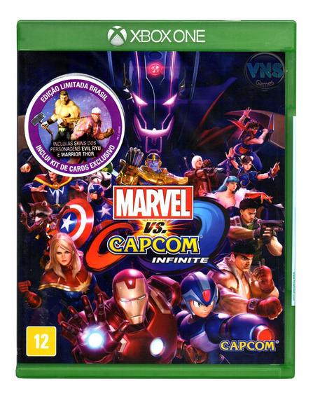 Marvel Vs Capcom Infinite - Xbox One - Mídia Física Novo