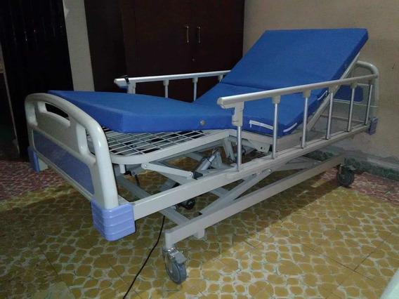 Cama Medica Marca Moteck 4 Posiciones