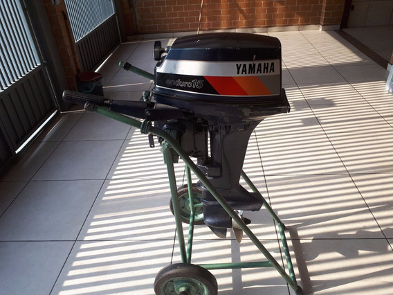Motor De Popa Yamaha Enduro 15hp