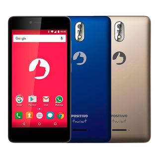 Reembalado Smartphone Positivo Twist S520 S Azul E Dourado