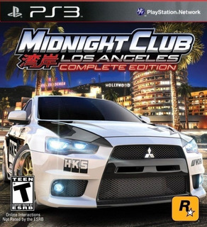 Midnight Club Los Angeles Complete Edition ~ Ps3 Digital