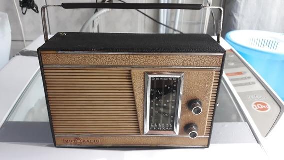 Rádio Portátil Usado Motoradio 6 Faixas Leia A Discrição Ant