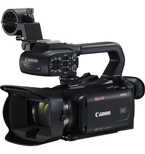 Filmadora Profissional Canon Xa40 Uhd 4k30 - Garantia E Nfe