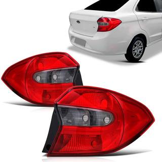 Lanterna Ford Ka 2015 2016 2017 2018 Sedan Traseira Fumê