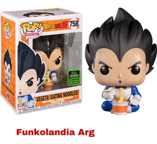 Funko Dragon Ball 758 Vegeta Sc 2020 Exclusive Funkolandia