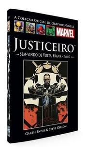 Livro Hq Graphic Novels Justiceiro - Bem Vindo De Volta 56