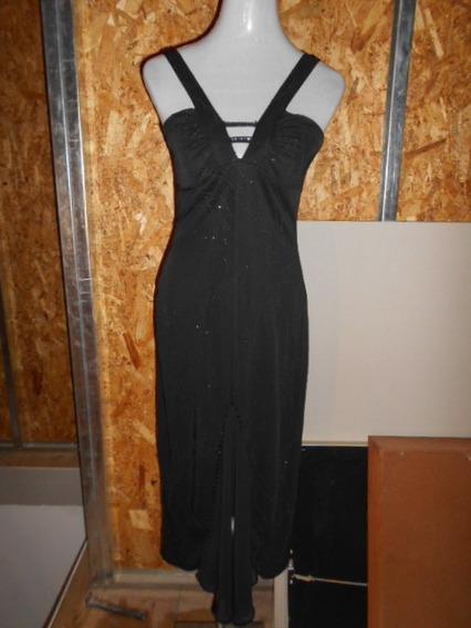 Vestido Negro De Fiesta Largo