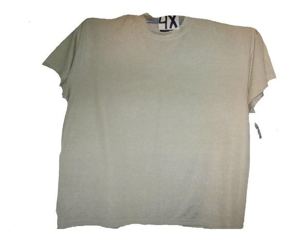 Camiseta Beige De Vestir/salir De Hombre Talla 4x After Drk