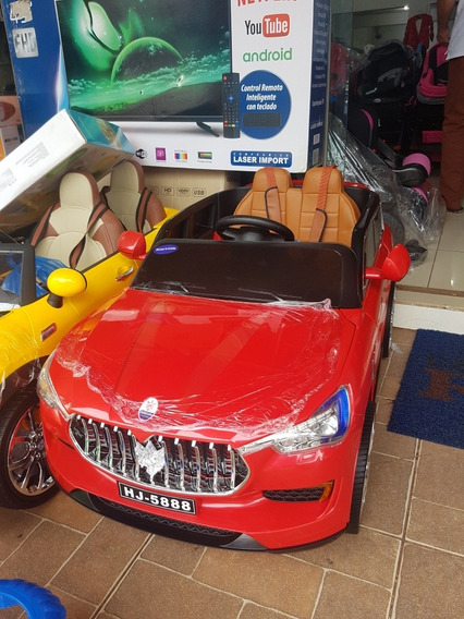 Carrinho Eletrico Maserati Com Dvd 12v