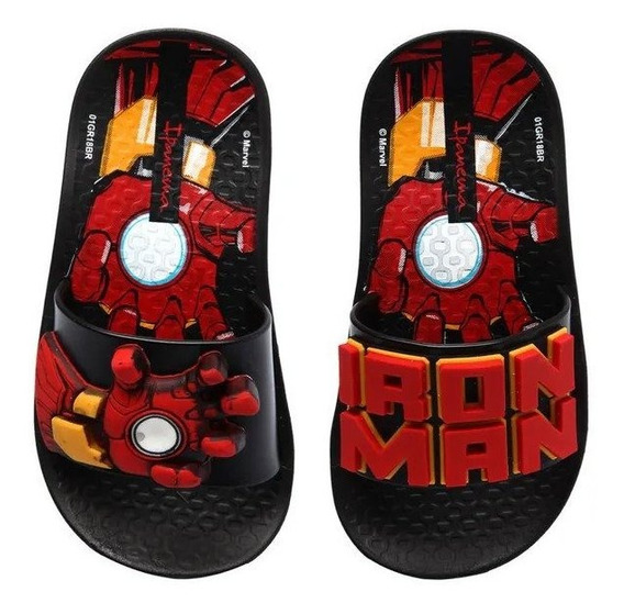Chinelo Inf Masc Homem De Ferro Ipanema