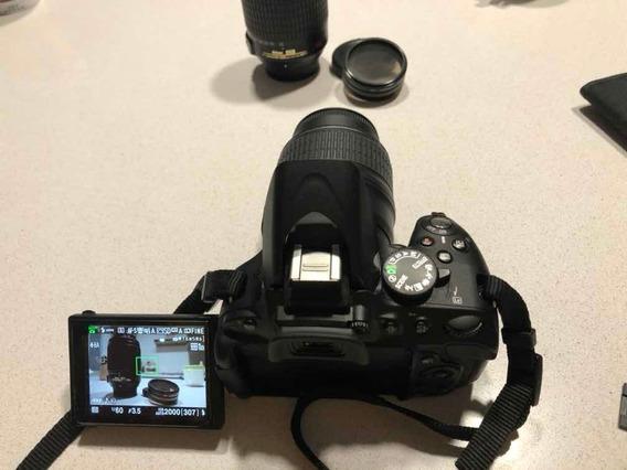Nikon D5100+lente 18-55 Mm