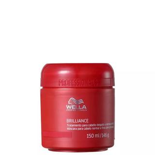 Wella Máscara Capilar Brilliance Fine To Normal Hair 150ml