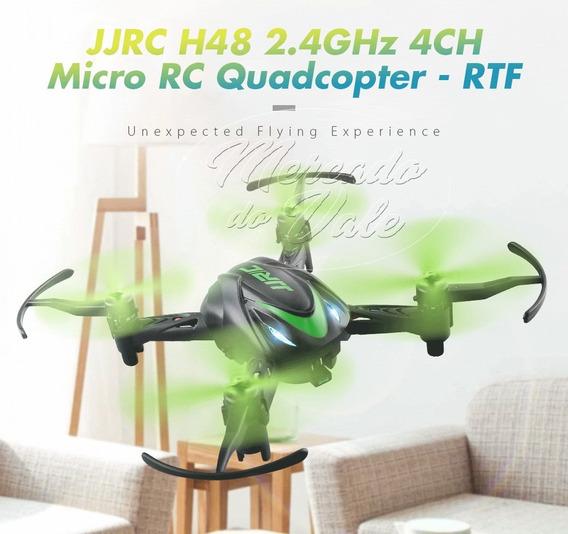 Mini Drone Jjrc H48 Quadricóptero Verde