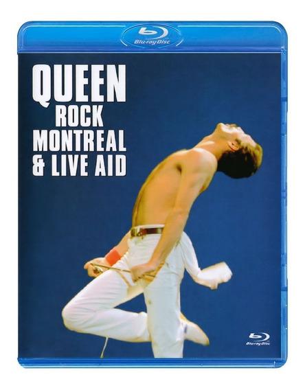 Queen - Rock Montreal & Live Aid [blu-ray] Lacrado Importado