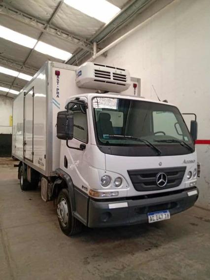 Mercedes-benz Accelo815 Con Equipo De Congelados Año 2017