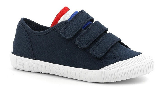 Zapatillas Niño Le Coq Sportif Nationale Ps Rojo Azul Blanco