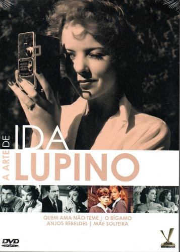 Imagem 1 de 2 de Dvd A Arte De Ida Lupino C/cards - Versatil - Bonellihq L19