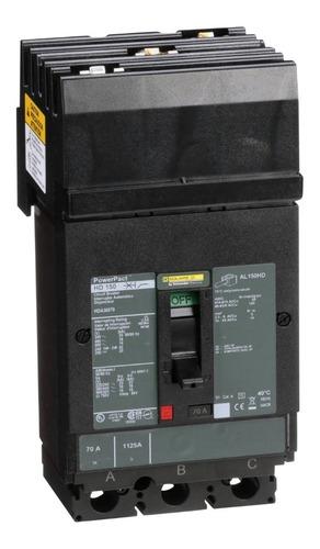 Imagen 1 de 1 de Interruptor Termomagnético Hda 3p 70a Schneider Hda36070