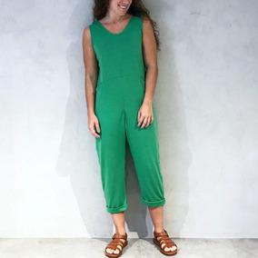 Macacão Confy Enika Verde Vermelho Confortável