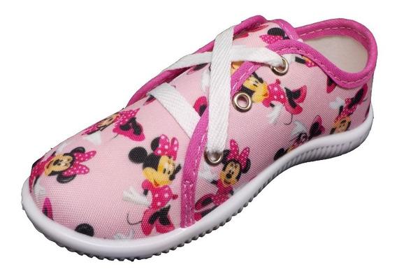 Tenis Infantil Meninas Personagem Minnie Mouse Promoção