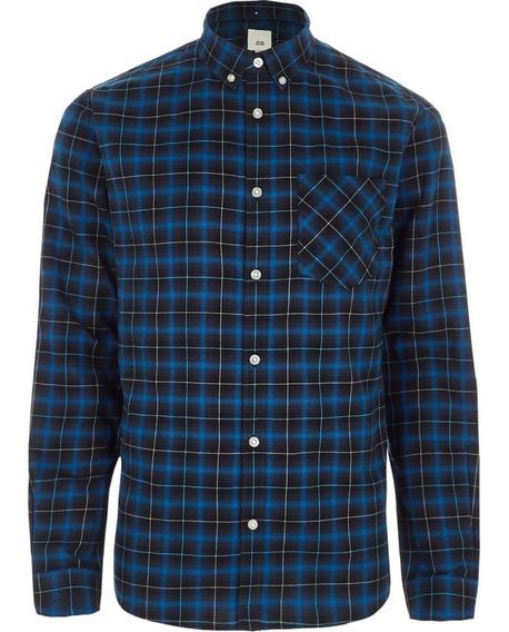 Camisa Tallas Extras 3xl 4xl 5xl Manga Larga
