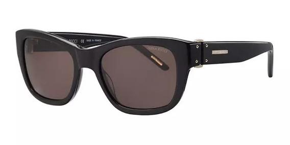 Óculos De Sol Nina Ricci 3253 Acetato Preto Feminino