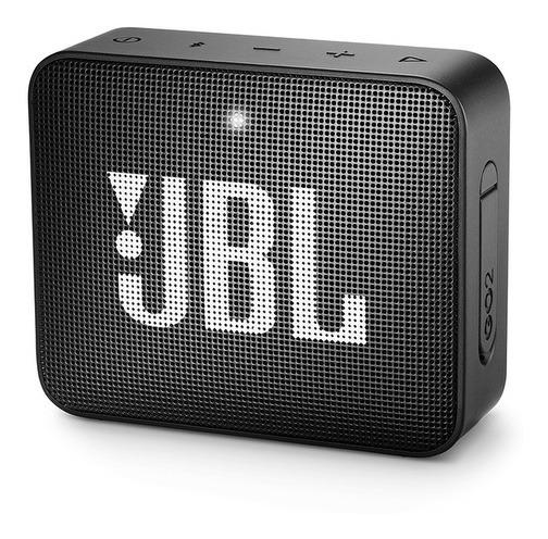 Caixa De Som Bluetooth Jbl Go2 Preto Br