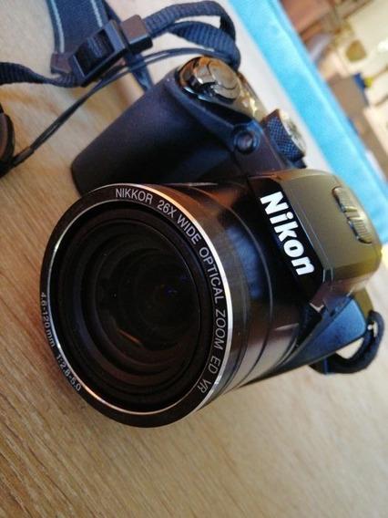 Câmera Nikon 42x Wide Optical Zoom Ed Vr 4.3 180mm 1:3 - 5.9