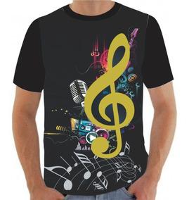 Camiseta Camisa Nota Musical Música Nerdstar
