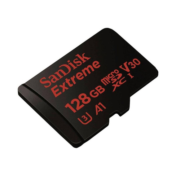 Micro Sd 128gb Extreme Sdsqxaf-128g-gn6ma 100mb/s - Sandisk