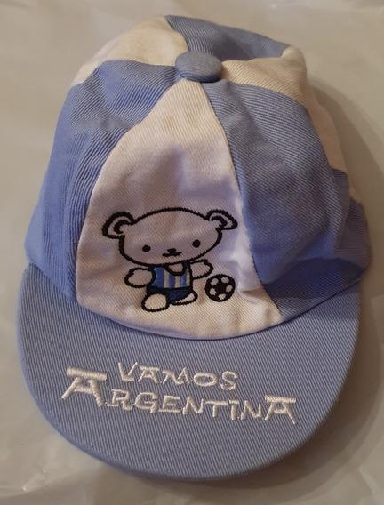 Gorro Visera De Argentina
