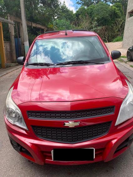 Chevrolet Montana Motor 1.4 2011 Vermelho 2 Portas