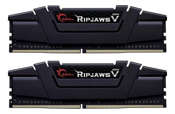 Memória RAM 16GB 2x8GB G.Skill F4-3200C16D-16GVKB