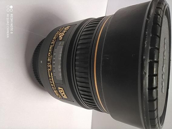 Lente Nikon Af Fisheye Nikkor 10.5mm 1:2.8g Ed