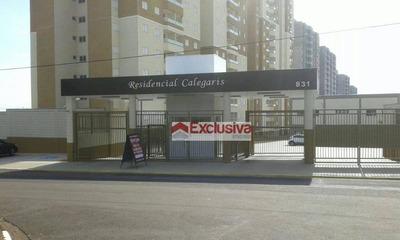 Apartamento Com 2 Dormitórios Para Alugar, 61 M² Por R$ 1.200/mês - Jardim Dos Calegaris - Paulínia/sp - Ap0584
