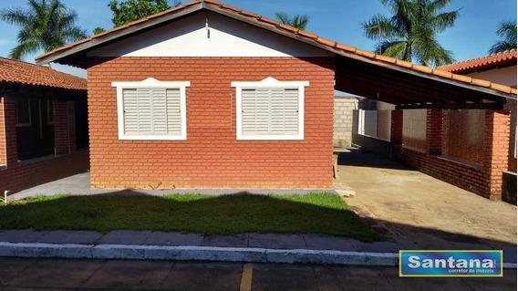 Chale Com Piscina 1 Dormitório À Venda, 50 M² Por R$ 65.000 - Mansões Das Águas Quentes - Caldas Novas/go - Ca0077