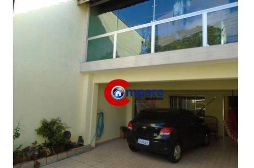 Sobrado Com 2 Dormitórios À Venda, 226 M² Por R$ 390.000,00 - Residencial Parque Cumbica - Guarulhos/sp - So2069