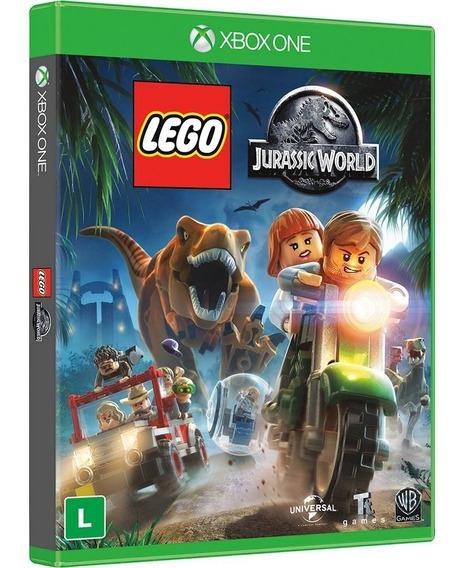 Lego Jurassic World - Xbox One - Novo - Mídia Física - Br