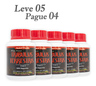 Tribullus Capsulas 650mg Original Imperdivel Leve 05