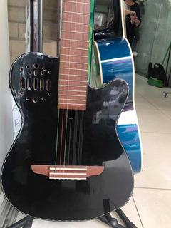 Requinto Electroacústico De Pino
