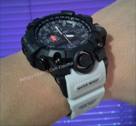 Relógio Digital Militar S Shock Gimto 303 Prova Dágua # 1155
